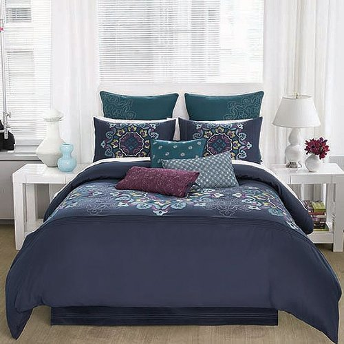 Modern Living Bianca Comforter Set, Full back-811594