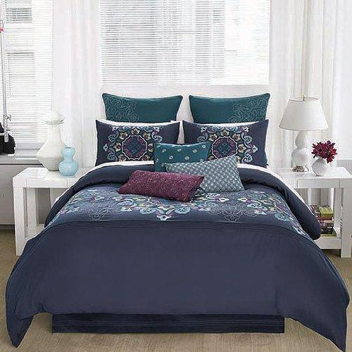 Modern Living Bianca Comforter Set, Full front-811594
