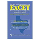 img - for ExCET -- The Best Test Prep: for the Examination for the Certification of Educators in Texas (Test Preps) book / textbook / text book