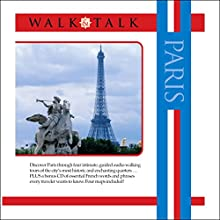 Walk and Talk Paris Audiobook by Sonia Landes, Alison Landes Narrated by Gates McFadden