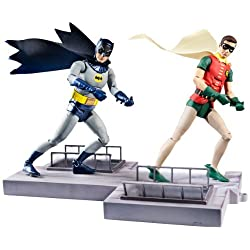 [Best price] Grown-Up Toys - DC Comics Classic TV Series Batman and Robin Action Figure, 2-Pack - toys-games