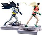DC Comics Classic TV Series Batman and Robin Action Figure, 2-Pack