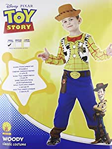 Rubie's - Toy Story - I-884195S - Costume - Woody - Taille S - 3-4 ans