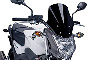 Puig 5991F RACING-SCREEN 【DARK SMOKE】 HONDA NC750S / NC700S(12-15) プーチ スクリーン カウル オートバイ バイク パーツ