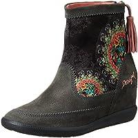 Desigual Women's Carlas Dark Grey Boots - 6 UK