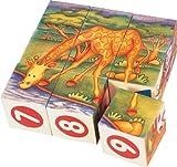 Voila Safari Jigsaw Cubes