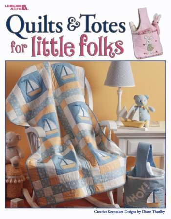 Quilts & Totes For Little Folks front-903238