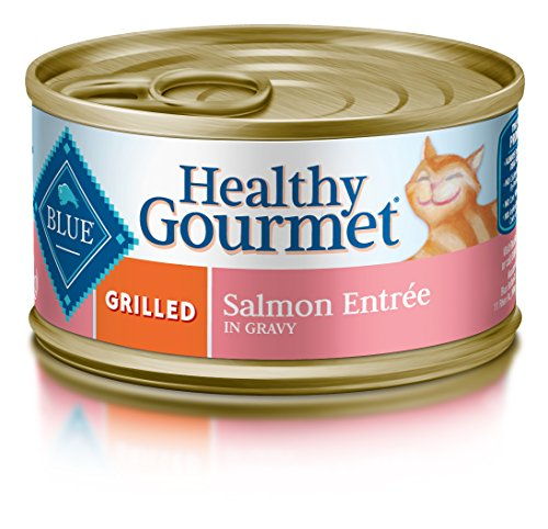 BLUE Buffalo Healthy Gourmet Grilled Salmon Entrée For Adult Cats