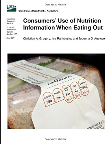 Consumers' Use Of Nutrition Information When Eating Out