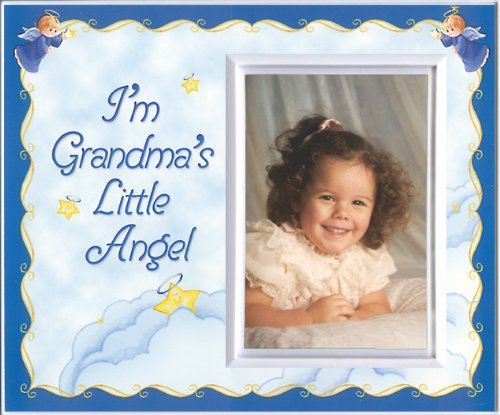 Grandma's Little Angel (stars) - Picture Frame Gift