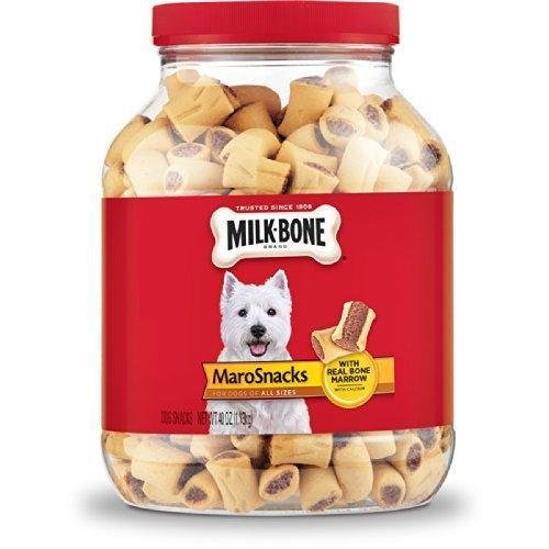 Milk-Bone MaroSnacks Dog Treats for All Sizes Dogs, 40-Ounce (Buffalo Blue Cheese Combos compare prices)