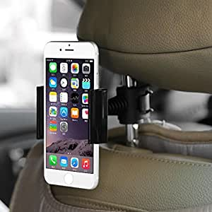 Original Baseus Happer Series Car Back Seat Mount Bracket Mobile Holder for BlackBerry Bold 9790 - (Black)