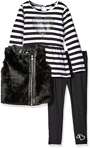 kensie-toddler-girls-faux-fur-vest-long-sleeve-peplum-t-shirt-and-legging-black-4t