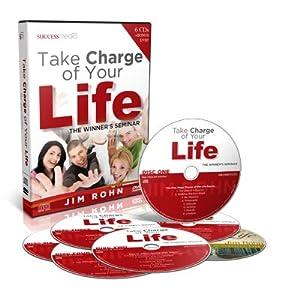 Take Charge of Your Life The Winner's Seminar Jim Rohn (6 CD's & Bonus DVD)