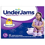 Pampers Underjams Bedtime Underwear Girls, Large/X-Large Diapers, 42 Diapers