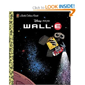 WALL-E Little Golden Book!