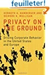 Privacy on the Ground - Driving Corpo...