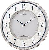 CITIZEN (シチズン) 掛け時計 エコライフM766 ソーラー 電波時計 4MY766-019