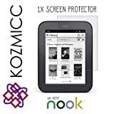 KOZMICC All New NOOK (The Simple Touch Reader, Nook 2) Touch Screen Display Screen Protector