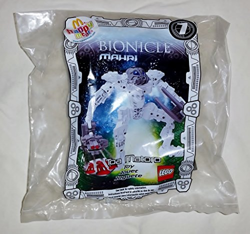 McDonalds Happy Meal Lego Bionicle Mahri Toa Matoro Toy #7 2007