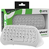 Ortz Xbox One Chatpad Keyboard KeyPad White [with Headset/Audio Jack] Best for Wireless Chat - Built in USB Receiver for Xbox One Game Controller - Easy Sync with your Controller