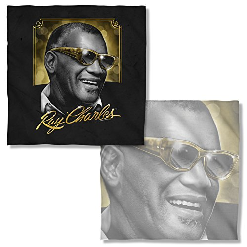 Ray Charles Golden Glasses Front & Back Bandana RC115FBBND