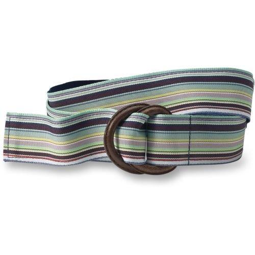 Ribbon Stripe Belt - Buy Ribbon Stripe Belt - Purchase Ribbon Stripe Belt (Eddie Bauer, Eddie Bauer Belts, Eddie Bauer Womens Belts, Apparel, Departments, Accessories, Women's Accessories, Belts, Womens Belts, Woven, Woven Belts, Womens Woven Belts)