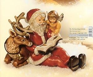 goebel die weihnachtsgeschichte weihnachtsmann mit engel. Black Bedroom Furniture Sets. Home Design Ideas