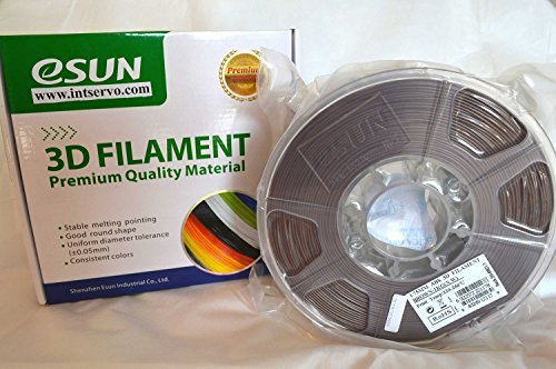 Esun ABS Brown/chocolate 3mm filament 1kg/2.2lb Spool for 3D Pen/Printer. 3doodler,lulzbot,makerbot,Makergear,Reprap,Up,Cubify,Leapfrog,Solidoodle,Ultimaker,Afinia,Flashforge,Zortrax,FDM,840249123173