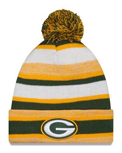 Green Bay Packers New Era NFL Super Bowl XLV Logo Striped Sport Knit Hat (Green Bay Super Bowl Hat compare prices)