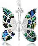 Tuscany Silver Damen-Anhänger Pava Shell Butterfly - 8.62.7122