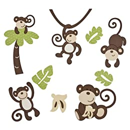 Product Image CoCo & Company Wall Decals - Monkey Time