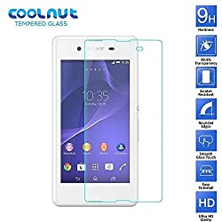 COOLNUT Sony Xperia E3 Tempered Glass Screen Prtector