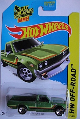 HOT WHEELS HW OFF-ROAD DATSUN 620 125/250, GREEN - 1