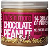 Nuts N More Peanut Butter, Chocolate, 16 Ounce