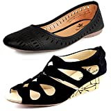 #3: Kanchan Women Wedges And Belly Pack