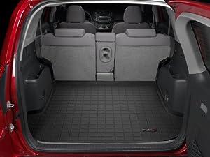 2006 2012 toyota rav4 weathertech cargo liner black behind 2nd seat automotive. Black Bedroom Furniture Sets. Home Design Ideas