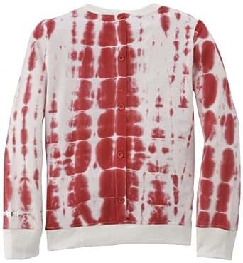 Desigual - moles - sweat-shirt - fille - rouge (chicle) - 4