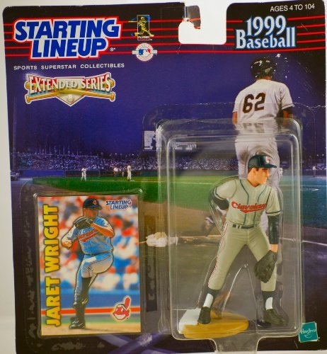 Jaret Wright 1999 Extended Starting Line Up by Kenner
