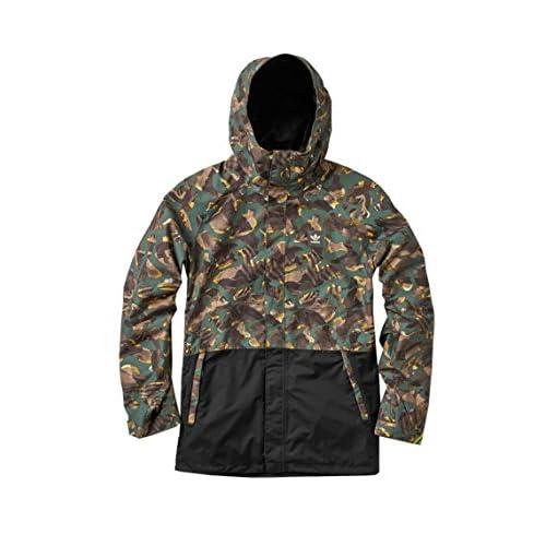 (アディダス) adidas ボードジャケット 10K Riding Jacket AA3700 PRINT/BK Oサイズ