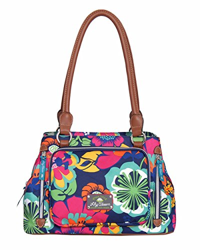lily-bloom-triple-section-maggie-multi-purpose-satchel-bag-floral-fiesta