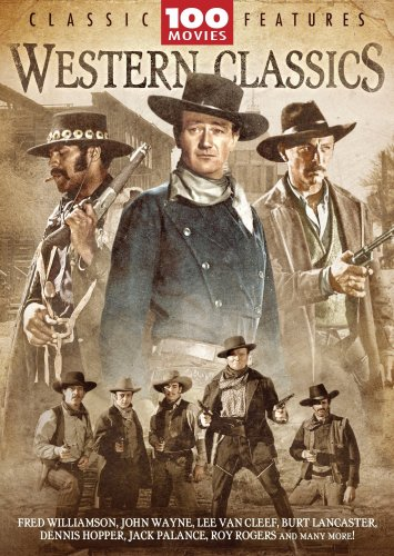 Western Classics 100 Movie Megapack [DVD] [Region 1] [US Import] [NTSC]
