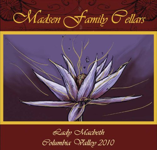 "2010 Madsen Family Cellars ""Lady Macbeth"" Red Bordeaux Blend Of Merlot, Cab Sav, Cab Franc 750 Ml"