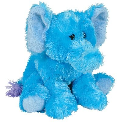 Blue Mini Softimal Elephant front-144229