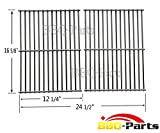 52932 Stainless Steel Centro, Charbroil, Front Avenue, Fiesta, Kenmore, Kirkland, Kmart, Master Chef, and Thermos Gas Grill Cooking Grid/Cooking Grates Replacement, Sold As A Set of 2