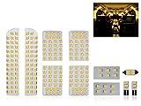 トヨタ 20系 アルファード ヴェルファイア 3000K 電球色 LED ルームランプ 11点セット ANH20/25 GGH20/25 ゴールデンシリーズ 前期/後期 対応
