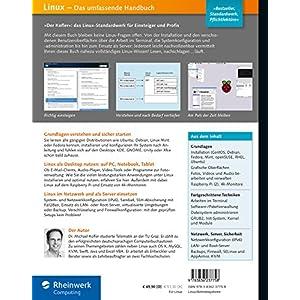Linux: Das umfassende Handbuch. 20 Jahre »Kofler« _ Das Standardwerk für Einsteiger und