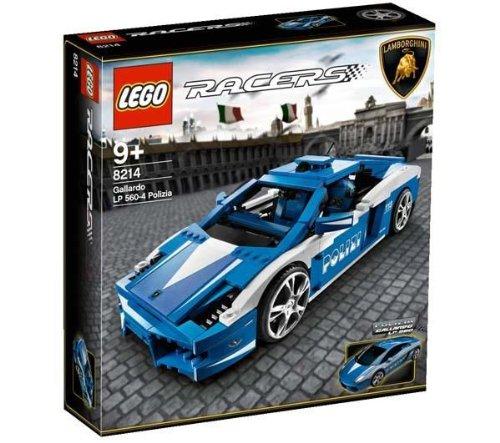 LEGO Racers Set #8214 Police Lamborghini Gallardo