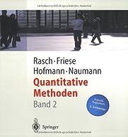 Quantitative Methoden 2 by Rasch