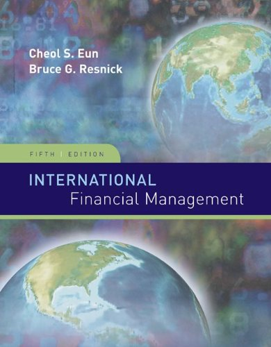 International Financial Management (Irwin/McGraw-Hill...